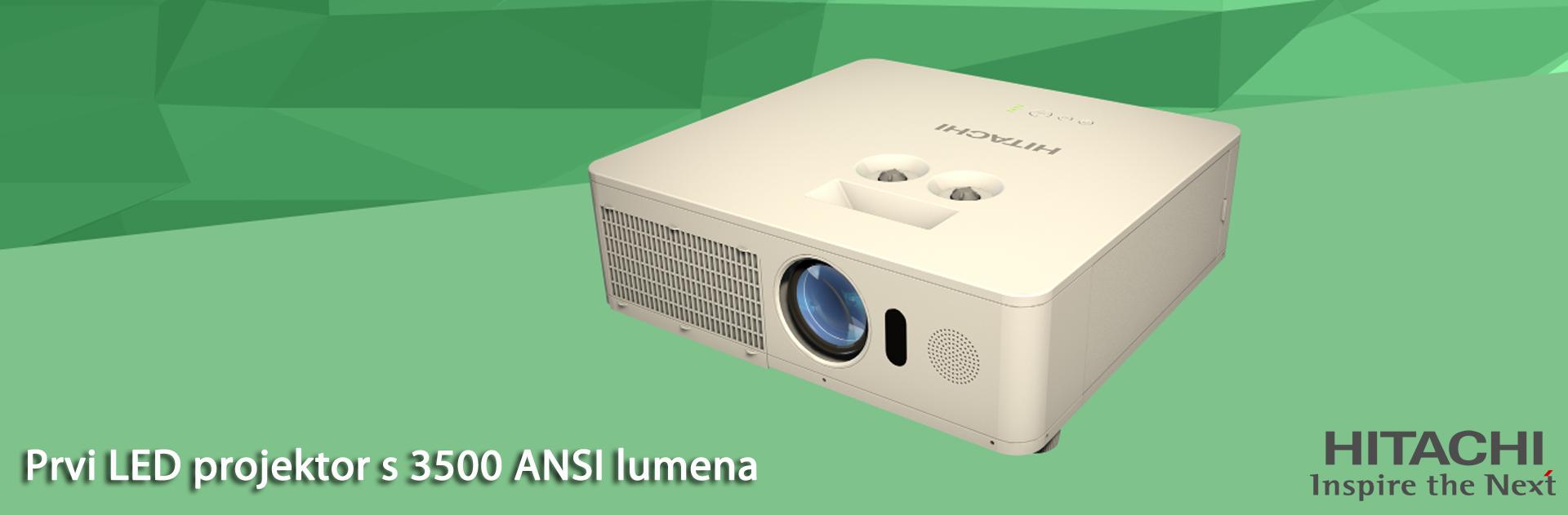 Hitachi LED projektor
