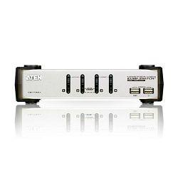 4-Port PS/2-USB VGA/Audio KVMP™ Switch