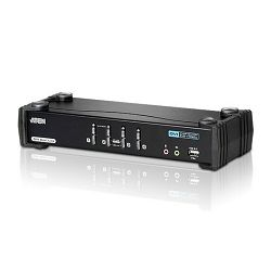 Aten CS1784A, 4-Port USB DVI Dual Link KVMP™ Switch