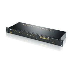Aten CS1208A, 8-Port PS/2 VGA KVM Switch with Daisy-Chain Port