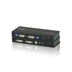 Aten CE604, DVI Dual View KVM Extender