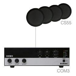 Audio sustav Audac Agro5.4 (Pojačalo COM3, zvučnici CS55)