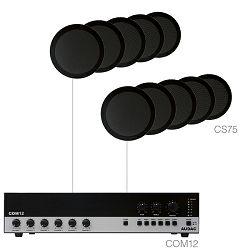 Audio sustav Audac Agro7.10 (Pojačalo COM12, zvučnici CS75)