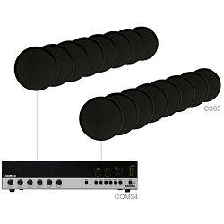 Audio sustav Audac Agro8.16 (Pojačalo COM24, zvučnici CS85)