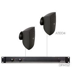 Audio sustav Audac Festa4.2 (Pojačalo DPA152, zvučnici ATEO4)