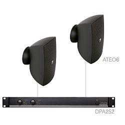 Audio sustav Audac festa6.2 (Pojačalo DPA252, zvučnici ATEO6)