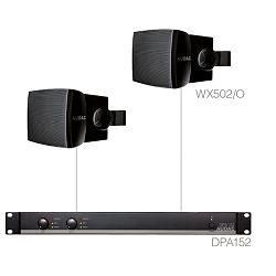 Audio sustav Audac Purra5.2 (Pojačalo DPA152, zvučnici WX502/O)