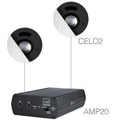 Audio sustav Audac Senso2.2 (Pojačalo AMP20, zvučnici CELO2)