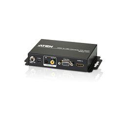 ATEN VC812, HDMI TO VGA CONVERTER W/SCALER W/EU ADP