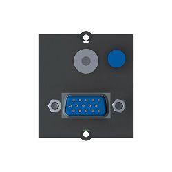 VGA i Audio priključak Bachmann za stolne priključnice