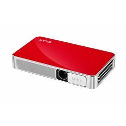 Prijenosni projektor Vivitek Qumi Q3-RD crveni, DLP, HD720p (1280 x 720) rezolucija, 500 ANSI lumena