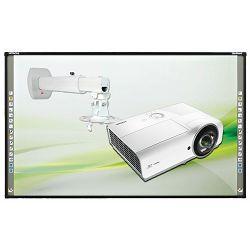 Širokokutni projektor Vivitek DX563ST + nosač + interaktivna ploča Hitachi Starboard FX79E1 (montaža i edukacija)