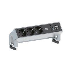 Stolna priključnica Bachmann DESK 2; 3x strujna utičnica, 1x USB, 1x LAN, 1x priključak