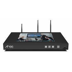 Uređaj za snimanje i distribuciju predavanja i sastanaka AREC KL-3WT, 3 kanala, 2 streama, WiFi, touch screen