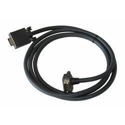 VGA kabel Kramer C-GM/GM(45)-3 (Male- 45° Male) 0,9 m