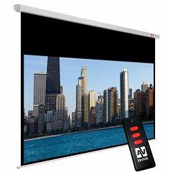 Zidno električno platno Avtek Cinema Electric 200, 200x200 cm, format 16:9