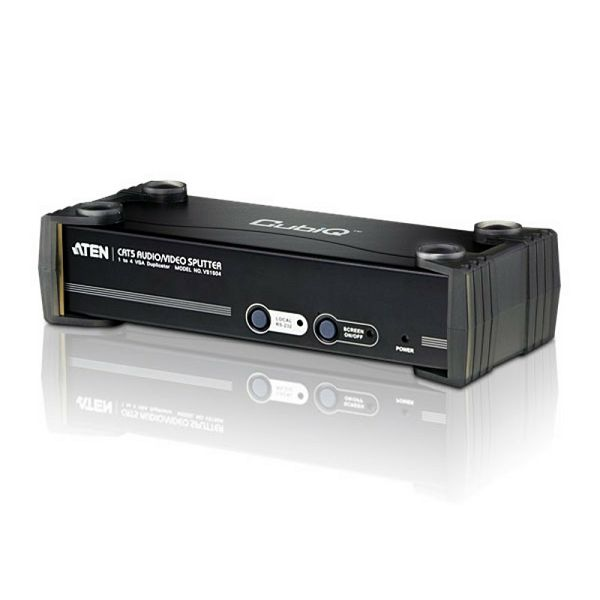 ATEN VS1504T, CAT5 Audio i Video Razdjelnik s četiri izlaza W/230V