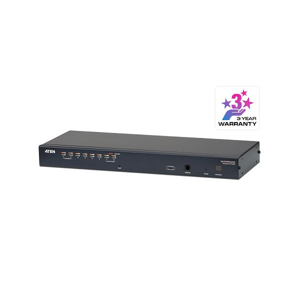 Aten KH1508A, 8-Port Cat 5 KVM Switch with Daisy-Chain Port