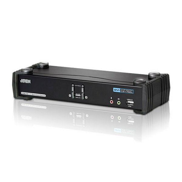 Aten CS1782A, 2-Port USB DVI Dual Link KVMP™ Switch